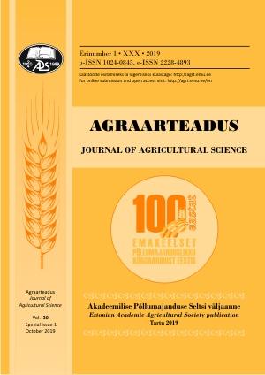 100 aastat emakeelset põllumajanduslikku kõrgharidust